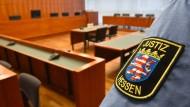 Blick in den Sitzungssaal des Kasseler Schwurgerichts
