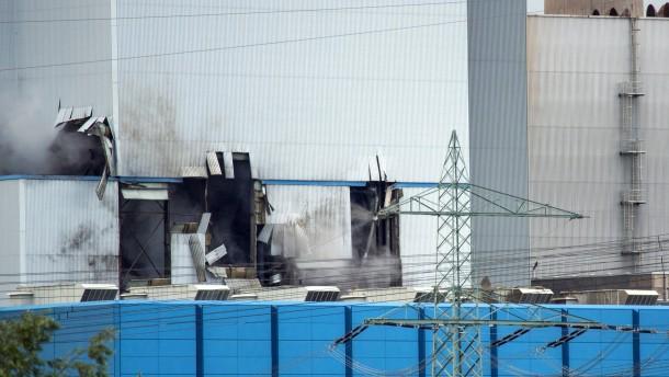 Explosion richtet Millionenschaden in Kraftwerk an