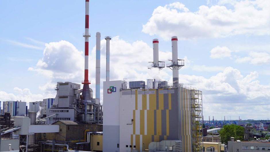 Kraftpaket: Der Industriepark Kalle-Albert erzeugt mehr Strom, als er bisweilen selbst braucht