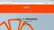 Kryptogeld-Herausgeber: Helix orange, ein Start-up