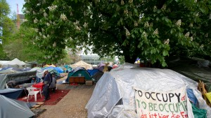 Neuanfang im Occupy-Camp