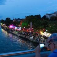 Drei Tage am Fluss: Vor allem am Abend wird es stimmungsvoll.