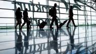 Rückgang: Im Juni 2016 nutzten deutlich weniger Fluggäste den Frankfurter Airport als vor einem Jahr