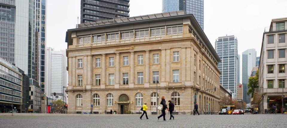 Frankfurt Deutsche Bank Veräußert Ihre Filiale