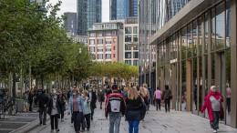 Corona bremst Wachstum der Stadt