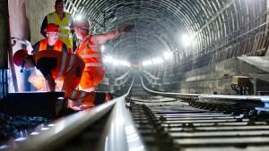 Bahn: Züge kommen schneller durch S-Bahn-Tunnel in Frankfurt