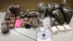 Polizei nimmt Drogenbande fest