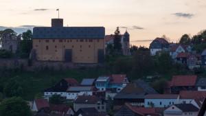 Die Burg über dem Tal der Schmalen Sinn