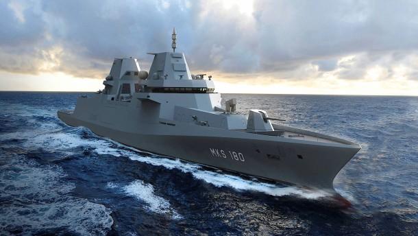 Bekommt die Marine ihr Kampfschiff?