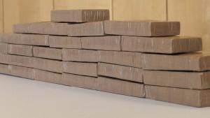 14 Kilogramm Heroin im Rollkoffer
