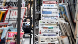 Zeitungs-Tarifgespräche vertagt