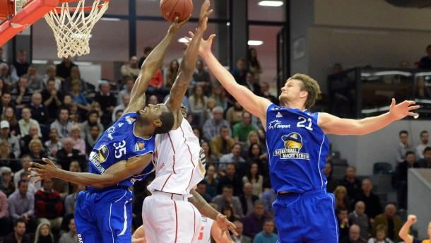 Basketball BBL, Giessen 46ers - Frankfurt Skyliners