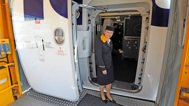 Türen aus Frankfurt für den A380