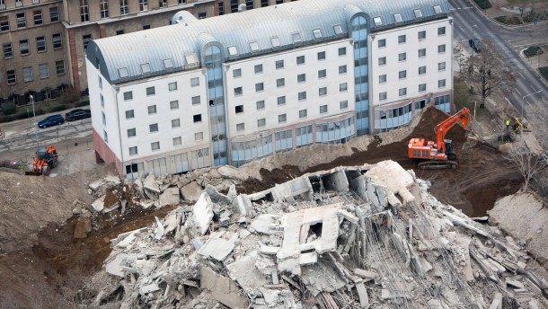 Rätsel um Explosion auf früherem AfE-Gelände