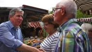 Sieger: Gert-Uwe Mende hat die Mehrheit der Wähler in Wiesbaden im Wahlkampf überzeugt