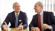 Der Alte und der Nachfolge: Merck-Konzernchef Kley übergibt Ende April an seinen Stellvertreter Oschmann