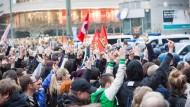 Frankfurter Polizei sieht starke Politisierung