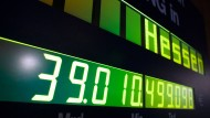 Hessens Schulden sinken deutlich