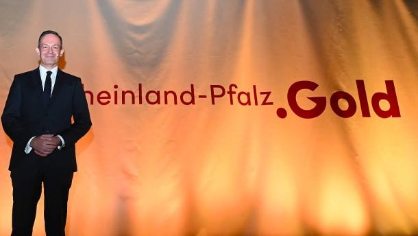 """Der goldige Minister und sein """"Standort-Claim"""""""