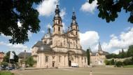 Das Wahrzeichen der Stadt Fulda: der Dom.