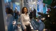 Kreativ auf engem Raum: Beate-Ina Dotzauer, die Chefdekorateurin von Galeria Kaufhof in Frankfurt
