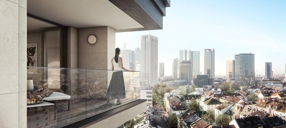 Wohnhochhäuser In Frankfurt Nachfrage Der Luxus Wohnungen