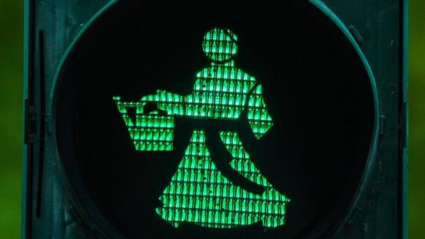 Wasserdoktor in Grün und Rot