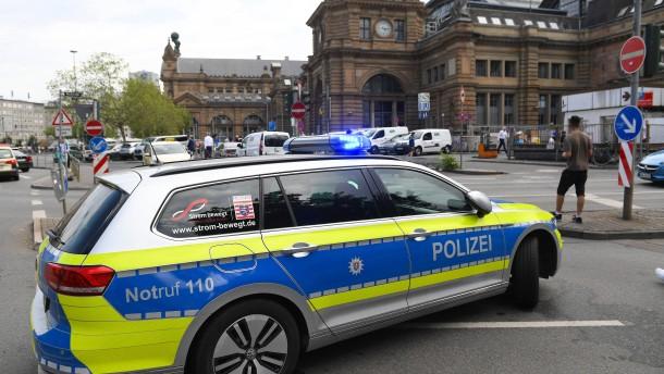 Frankfurter Hauptbahnhof mit den meisten Straftaten