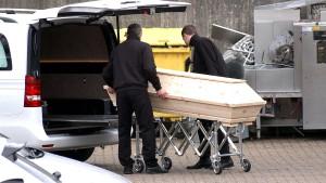 Die meisten Todesfälle wegen Covid-19 entfallen auf Altenheime