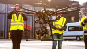 Lufthansa testet Drohne