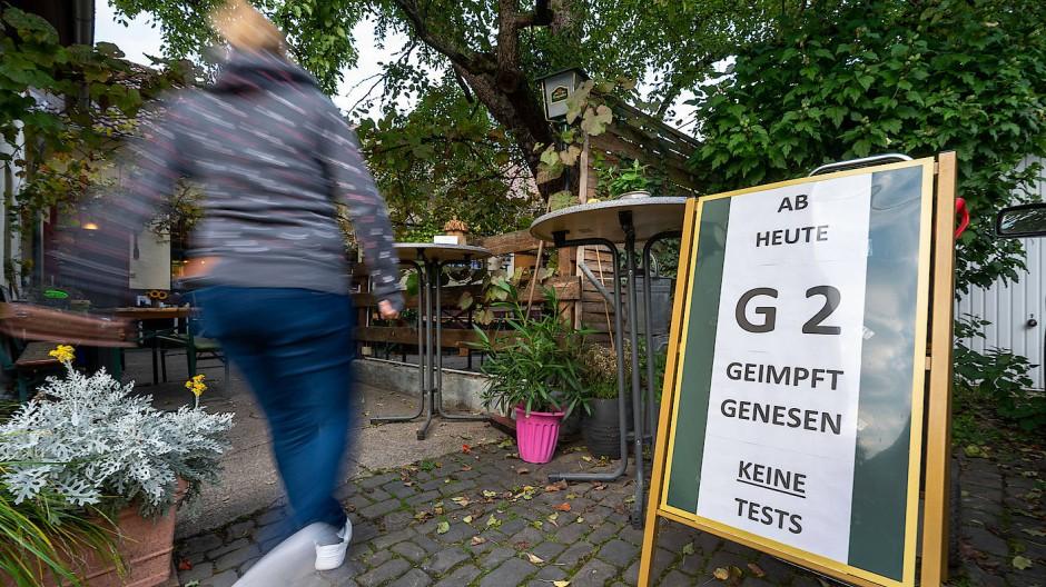 Einladung: Auf solche Hinweisschilder könnten Passanten in Hessen bald häufiger treffen.