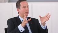 Ist verwundert, dass  die Union diesmal so ruhig ist: Florian Rentsch (FDP)