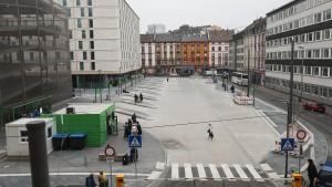Frankfurter Fernbusbahnhof weiter ohne Wartezone