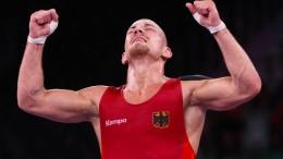 Frank Stäbler krönt seine Karriere mit Olympia-Bronze