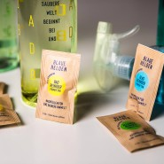 Hessen: Produkte von Blaue Helden, die Plastik sparen helfen sollen