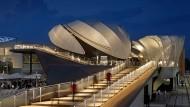 Bald nur noch Geschichte: Der deutsche Pavillon auf der Weltausstellung in Mailand