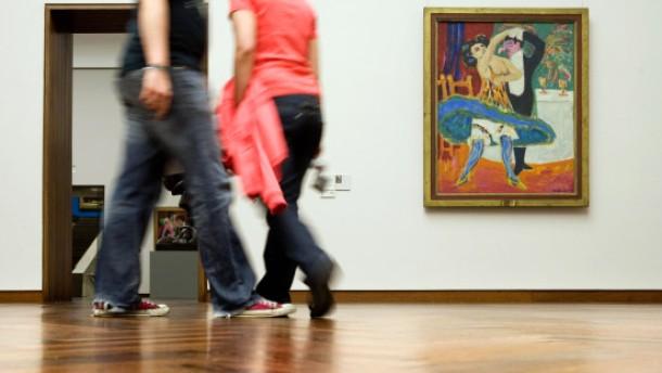 Der Seiltanz der Region und die Expressionisten