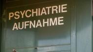 Patient nach Schüssen in geschlossener Psychiatrie
