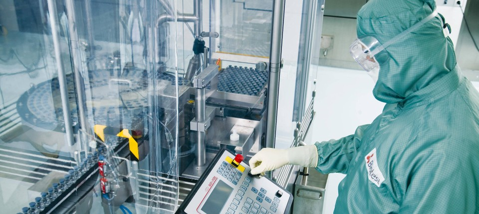 Rohstoff Blut: Biotest verarbeitet Blutplasma, das Antikörper enthält.