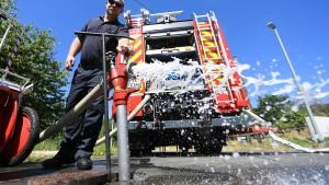 Wasserspar-Appell im Taunus zeigt Wirkung