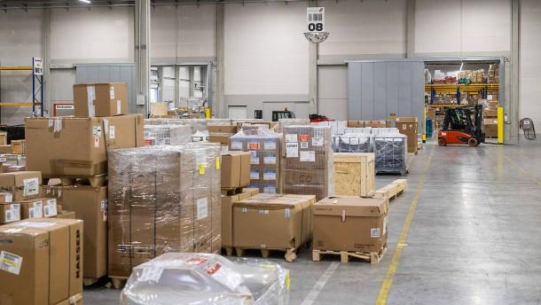 Lufthansa Cargo auf schnellen Transport vorbereitet