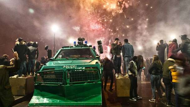Feuerwerk die Ausnahme