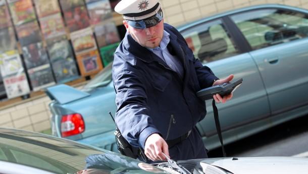 Wer falsch parkt, bekommt kein Knöllchen