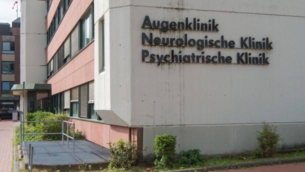 Drei Verletzte nach Schießerei in Psychiatrie