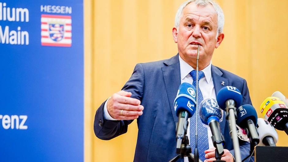 Kündigt Konsequenzen für das SEK an: Frankfurter Polizeichef Bereswill