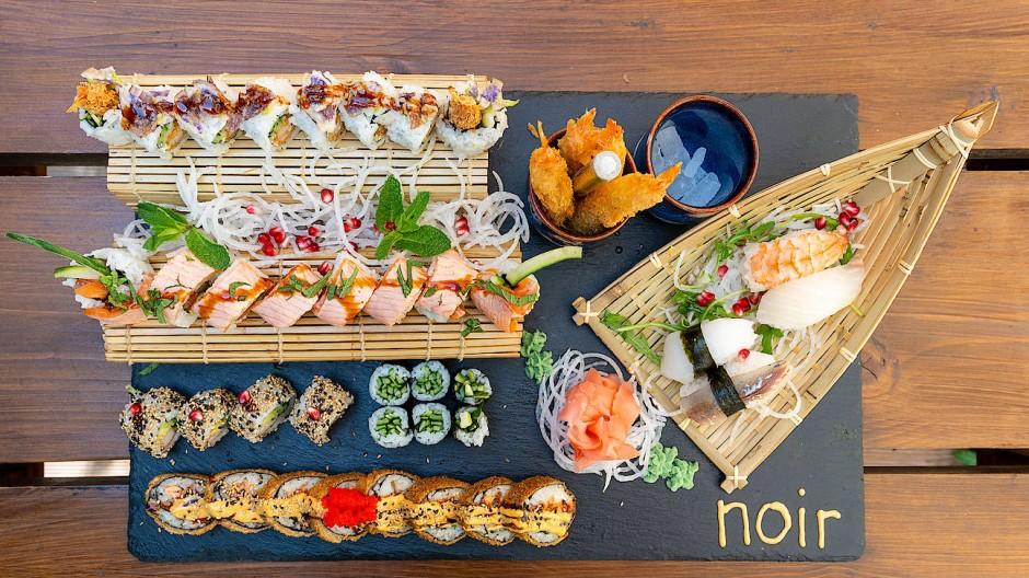 Schmackhaft und sättigend: die Stormy's Sushi Plate