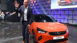 """Opel """"zufrieden"""" mit ersten Bestellungen für den Corsa-e"""