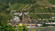 """Hier soll mindestens ein """"Reichsbürger"""" wohnen: Lorchhausen im Rheingau"""