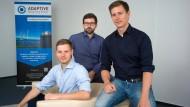 Gründer: Sebastian Golisch (links), Hendrik Schaede und Christian Schäfer