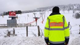 Hessische Wintersportgebiete sperren abermals Pisten und Parkplätze